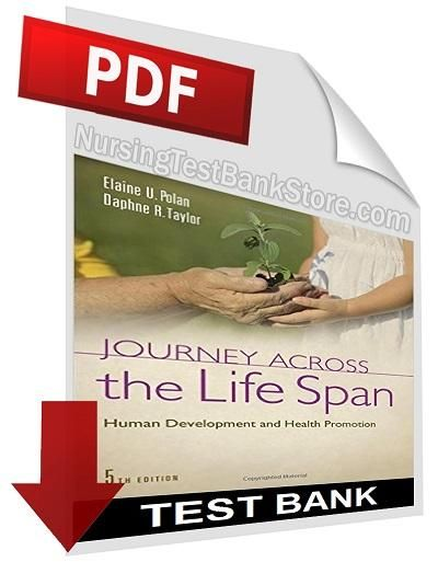 Journey across the life span - human development and health promotion