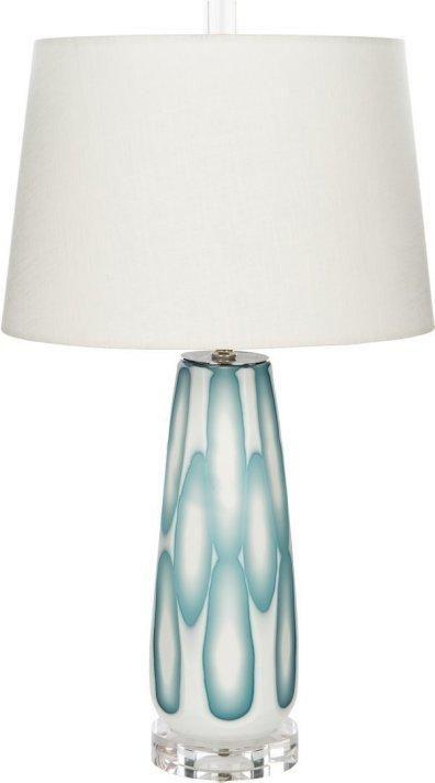 Sea Foam Splash Coastal Table Lamp Lamp Table Lamp Coastal Decor