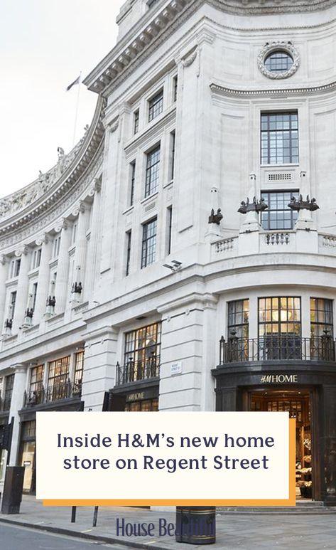 Inside H M Home S New Store On London S Regent Street H M Home Home Decor Shops Stylish Room Decor