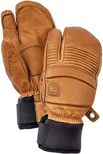 Fall Line Winter Cold Weather Leather Mittens Hestra Mens Ski Gloves
