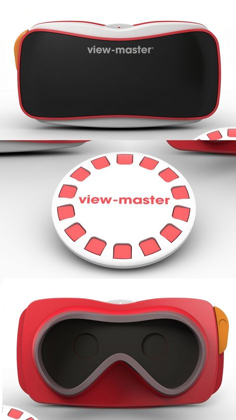 """View-Master Renewed: Google and Mattel have put a new virtual spin on the legendary View-Master stereo image viewer. Instead of cardboard wheels with stereo images, Google's Cardboard technology, with a little help from an Android (of course!) smartphone and app, will allow users of Mattel's new View-Master to experience 360-degree """"photospheres"""" of famous places. The $30 unit, available this fall, was unveiled at the Toy Industry Association's 2015 Toy Fair in New York. #TFNY"""