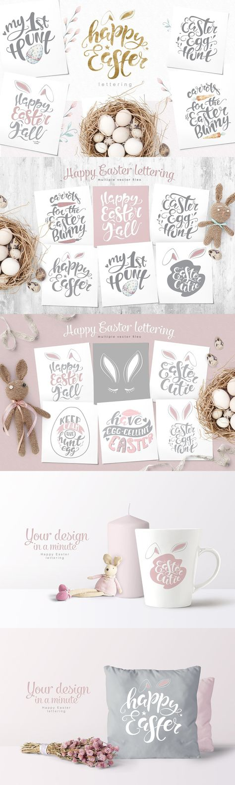 Happy Easter quote overlay!