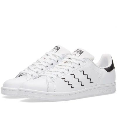 finest selection 89c7e 29565 adidas Stan Smith Embroidered Black and White //Continuing ...