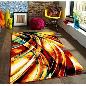 Prepare Your Eyes And Your Living Space For Lift Off Elevate And Excite Your Mood A Bright Vivid Explosion Of Color Thi Rugs Area Rugs Stylish Home Decor