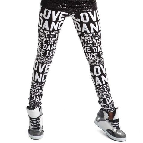 Alexandra Collection Youth Athletic Love Dance Leggings