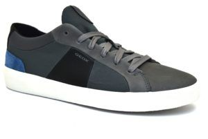 GEOX U922CB ONB22 C4002 WALEE BLU scarpe sneakers uomo primavera estate  vera pelle camoscio  a2ca43bfeb1
