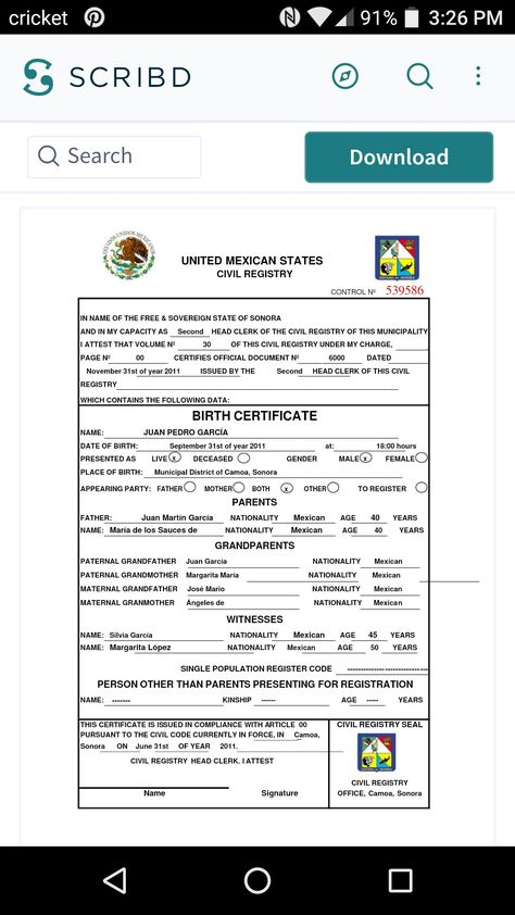 Pin by Norma Curiel on Translation Interpretation Pinterest - copy translate mexican birth certificate