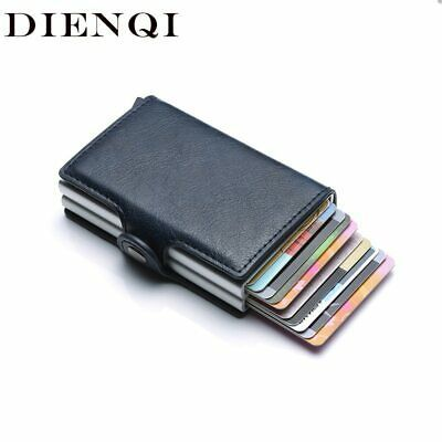 Women/'s GO ANYWHERE SECURITY WALLET RFID Shield Card Case ID Front Pocket New