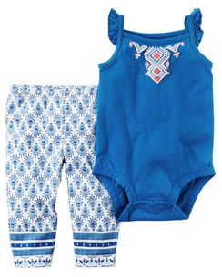 Carters Baby Girls 2 Pc Sets 121h231