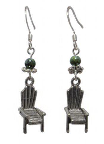 Adirondack Chair Earrings Chair Earrings Earrings Earrings Drop Earrings Jewelry