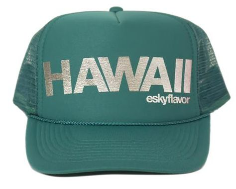 40564f4c278 ESKY FLAVOR HAT - HAWAII HI TEAL