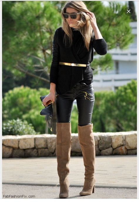 CARMELLA OTK BOOT -- BLACK | Otk boots black, Boots, Black