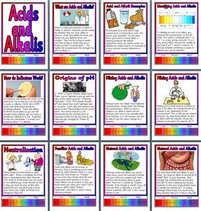 Ks3 Science Teaching Resource Acids And Alkalis Acids And Bases Printable Classroom Display Teaching Science Teaching Secondary Science Teaching Resources