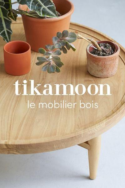 Tikamoon Le Mobilier Bois En 2020 Rangement Decoratif Mobilier En Bois Deco Interieure
