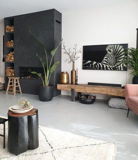 Groen In Huis En Tuin Huizedop Huis Ideeen Decoratie Kleine Woonkamer Inrichting Interieur Woonkamer