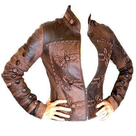 steampunk leather jacket   Steampunk Fashion Shop