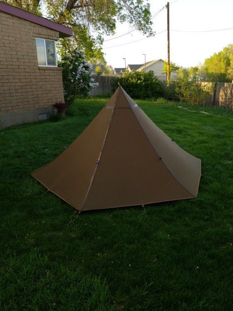 the latest fedb9 35a5b 2-person backpacking tipi tent   Lightweight Teepee Tents ...