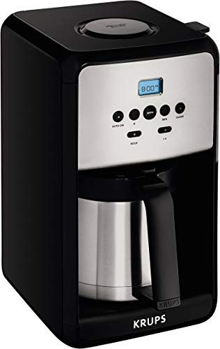 Enjoy Exclusive For Krups Et351 Coffee Maker Coffee Programmable Maker Thermal Carafe 12 Cup Black Online In 2020 Krups Coffee Maker Thermal Coffee Maker Coffee Maker Machine