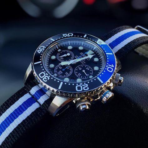 63d53e177 List of Pinterest seiko watches chronograph solar pictures ...