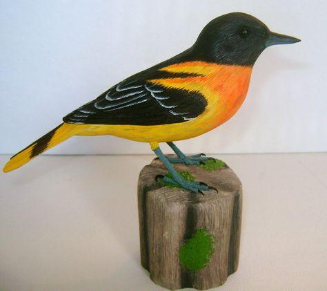 17 Bird Carvings From The Wild Ideas Bird Carving Bird Carving