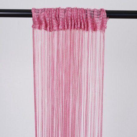 Balsacircle 3 Feet X 8 Feet Silk Tassels Fringe Curtains Wedding