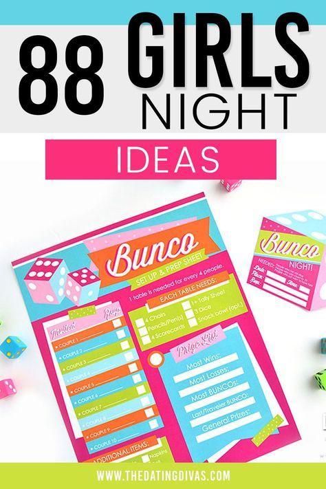 Fun girls night ideas for adults!