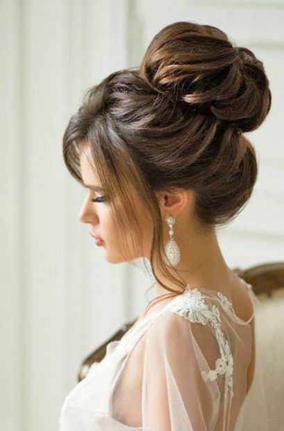 What Better Than A Top Knot Bun Hairstyle For That Special Day Easy Bun Hairstyles Hair Styles Hair Bun Tutorial