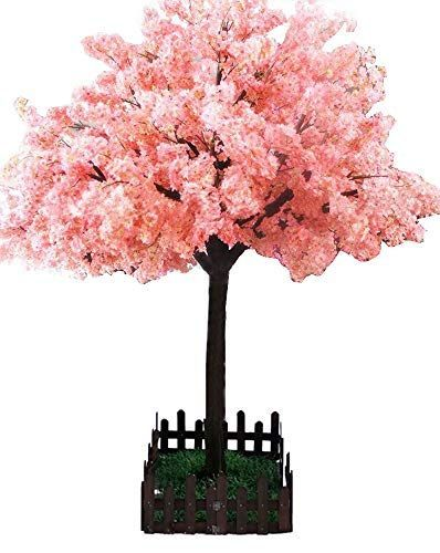 J Beauty Artificial Cherry Blossom Thick Flower Tree For Home Decor Party Spa Sc Artificial Blossom C Plant Decor Indoor Hanging Plants Indoor Indoor Tree