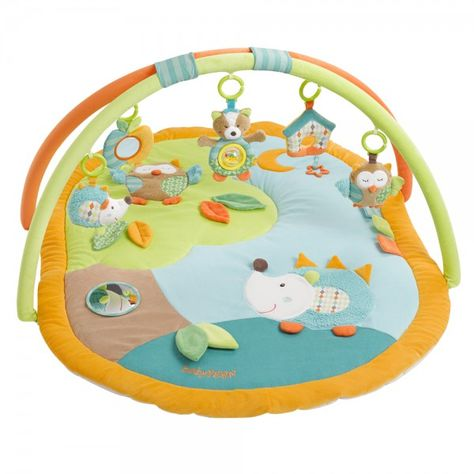 Fehn Activity-Spirale Spielspirale Sleeping Forest Eule Igel Fuchs