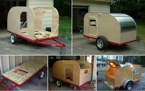 DIY Teardrop Camping Trailer httpwwwdecorationarchcom