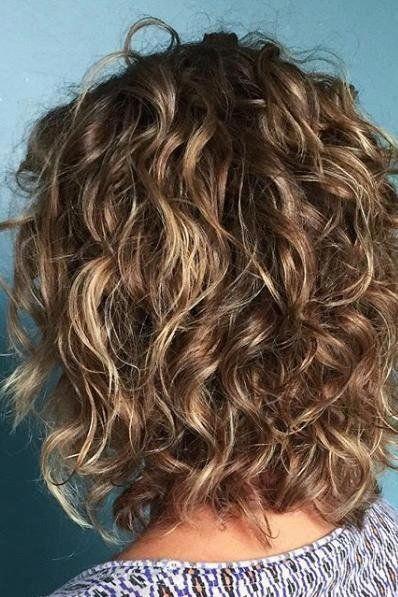 49++ Medium length curly hair trends