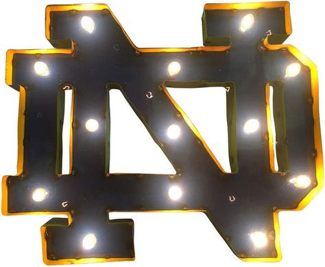 Notre Dame Fighting Irish Light-Up Wall Decor