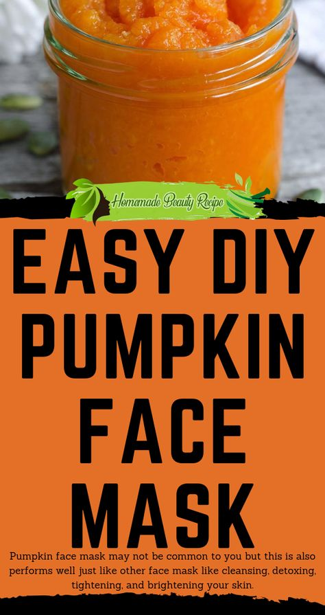 Pumpkin face mask may not be common to you but this is also performs well just like other face mask like cleansing, detoxing, tightening, and brightening your skin. It is packed with vitamin A, C and E which are essential in having a beautiful skin. It also boost collagen production which makes skin younger. So what are we waiting for? Let's try with the process #beauty #health #tips #remedies #HowToMakeFaceScrub