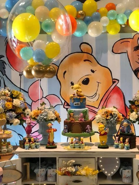 Baby Shower Ideas For Boy Soccer Party Decorations 16 Ideas Baby Boy Decorations Ideas Pa Disney Baby Shower Baby Bear Baby Shower Winnie The Pooh Birthday