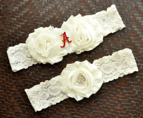 Fall Autumn Acorn Wedding Plus Size and other Charms and Colors Available Acorn Teal and White Wedding Garter or Set