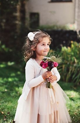 Cute flower girl