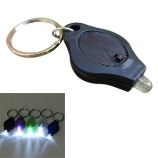 Porte Clés Lampe de Poche LED 4 Couleurs Keychain