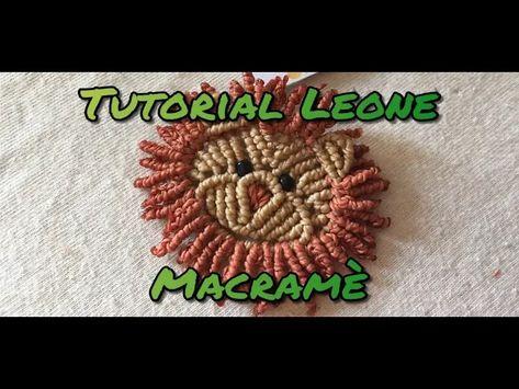 Tutorial uncinetto - schema leone amigurumi - YouTube | 355x473