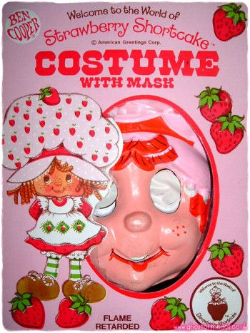 Toy Costume & Mask Sets by Ben Cooper & Collegeville [1980's] – Retro Musings