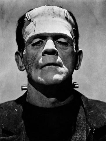 1931 Boris Karloff Horror movie poster 24x36 inches Frankenstein