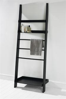 Wooden Ladder Shelf Decorating In 2019 Bathroom Ladder Shelf