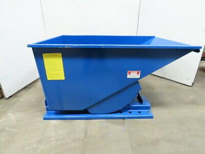 Ad Ebay Url Iron Bull Bull Jr Series Self Dumping Trash Scrap Hopper 1 Yard Capacity In 2020 Trash Waste Container Scrap