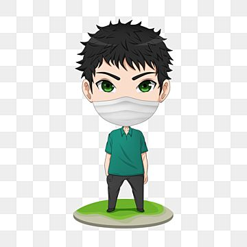 Anime Chibi Character Full Body Stand Up Use Mask Character Body Cartoon Png Transparent Clipart Image And Psd File For Free Download In 2021 Chibi Characters Anime Chibi Cartoons Png