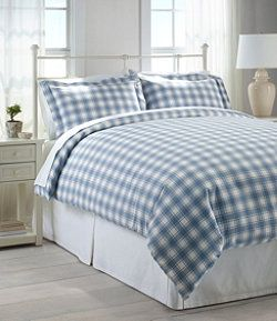 Ultrasoft Comfort Flannel Comforter Cover Collection Check