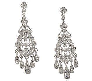 As Is Nadri Edwardian Style Chandelier Earrings