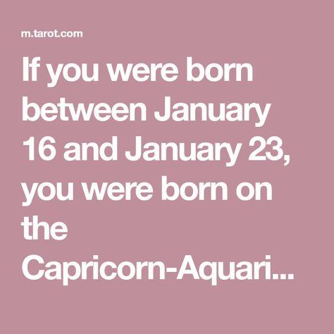 born january 16 astrology