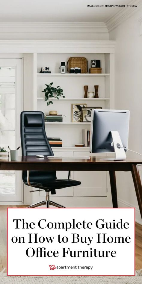 Ultimately, sourcing the best home office furniture is more than just pairing a desk with a chair. Here's what you should know. #homeoffice