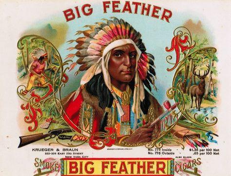 Native Americans in Cigar Label Advertising