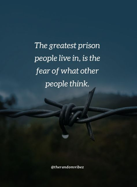 Don't live in fear of what other people will think. Live your own with your terms and conditions. Don't let other people rule you. #Thinkingofpeoplequotes #Pointofviewquotes #Lifequotes #Quotesaboutfear #Prisonquotes #Beingafraidquotes #Quotesabouthope #Shortquote #Meaningfulquotes #Positivequotes #Realityquotes #Relatablequotes #Jayshettyquotes #Deepquotes #Emotionalquotes #Goodquotes #Inspiringquote #Inspirationalquotes #Instaquotes #Quoteoftheday #Quotes #Quotesandsayings #therandomvibez