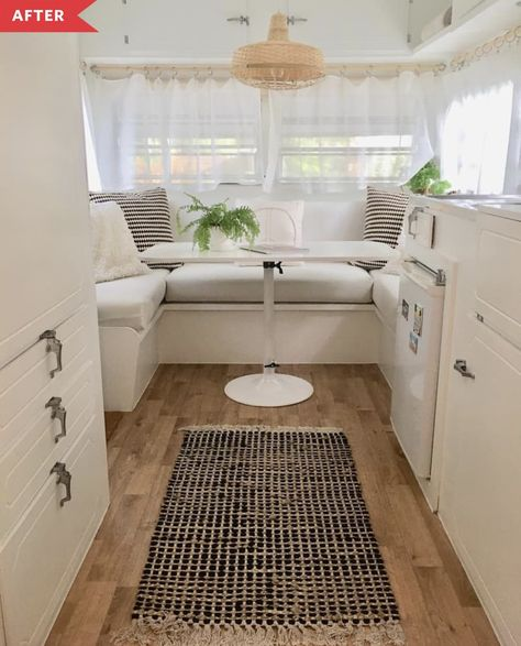 caravan renovation 840062136732397808 - Boho RV Remodel – Love this gorgeous boho rag rug from in Noosa. – Source by Vintage Caravan Interiors, Caravan Vintage, Vintage Caravans, Vintage Campers, Vintage Trailers, Vintage Travel, Vintage Rv, Vintage Airstream, Kombi Motorhome